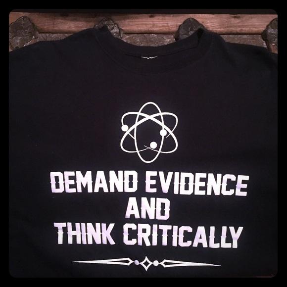 3845a9e75 Shirts   Mens Xl Demand Evidence Tshirt   Poshmark